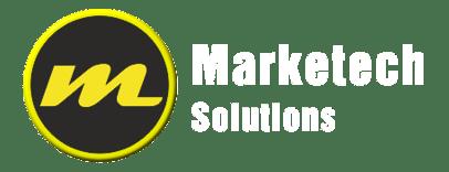 Marketech Solutions logo reverse